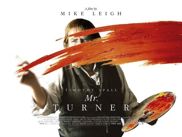Cartel de Mr. Turner