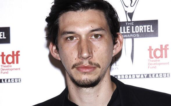 El actor Adam Driver.