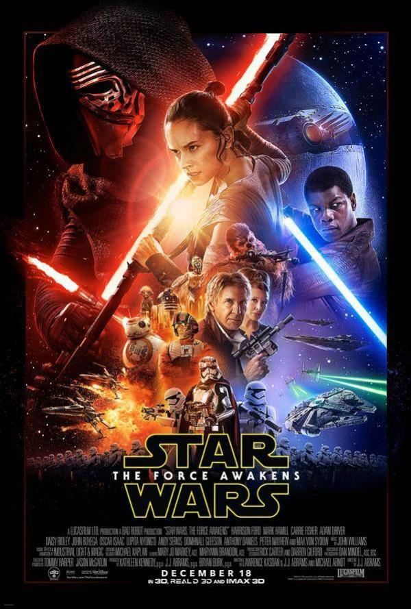 Luke Skywalker póster