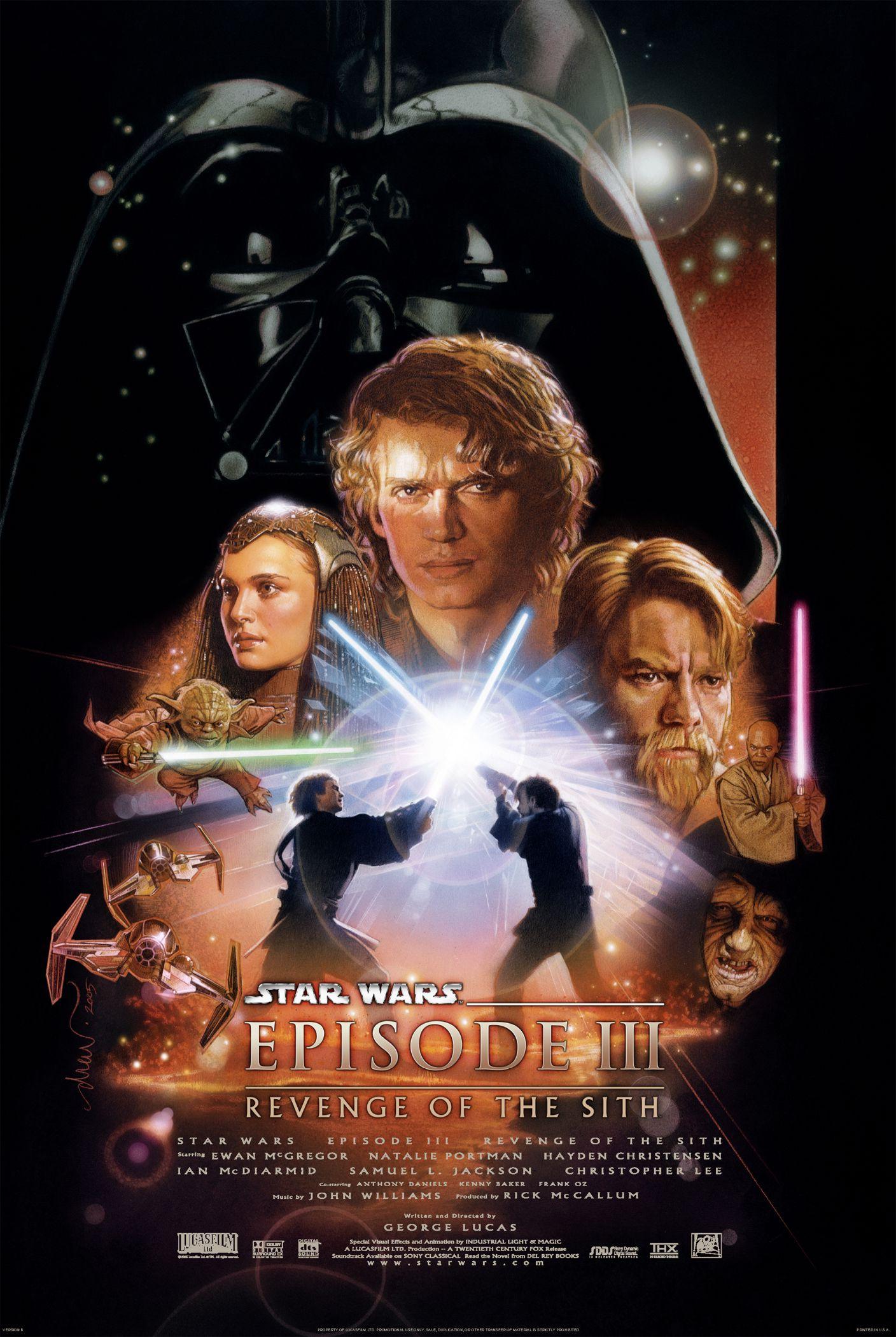 La Guerra de las Galaxias Episodio III: La Venganza de los Sith, 2005