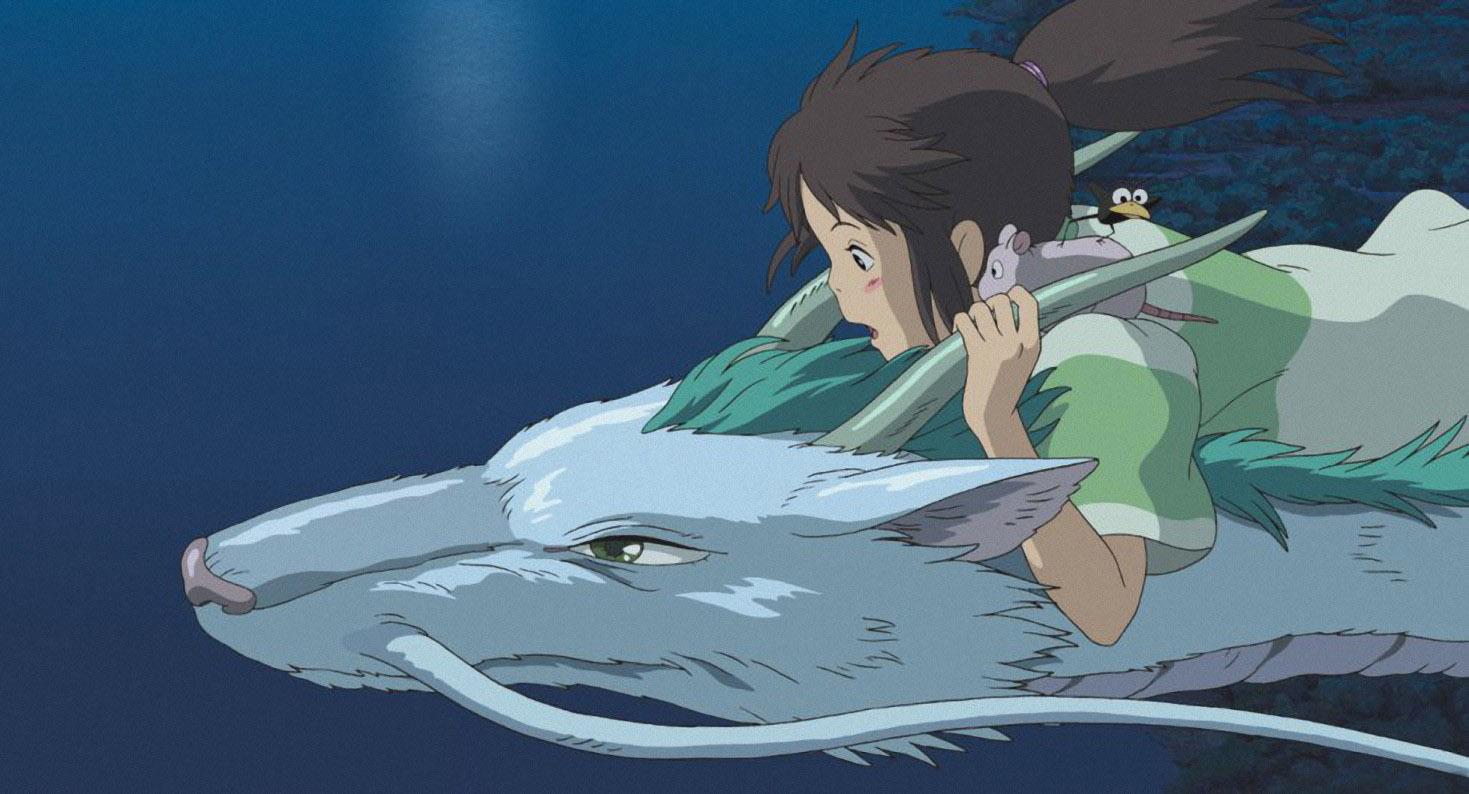 El viaje de Chihiro Studio Ghibli