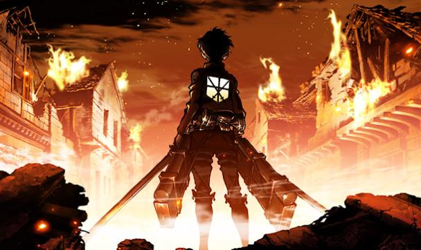 ataque a los titanes series anime