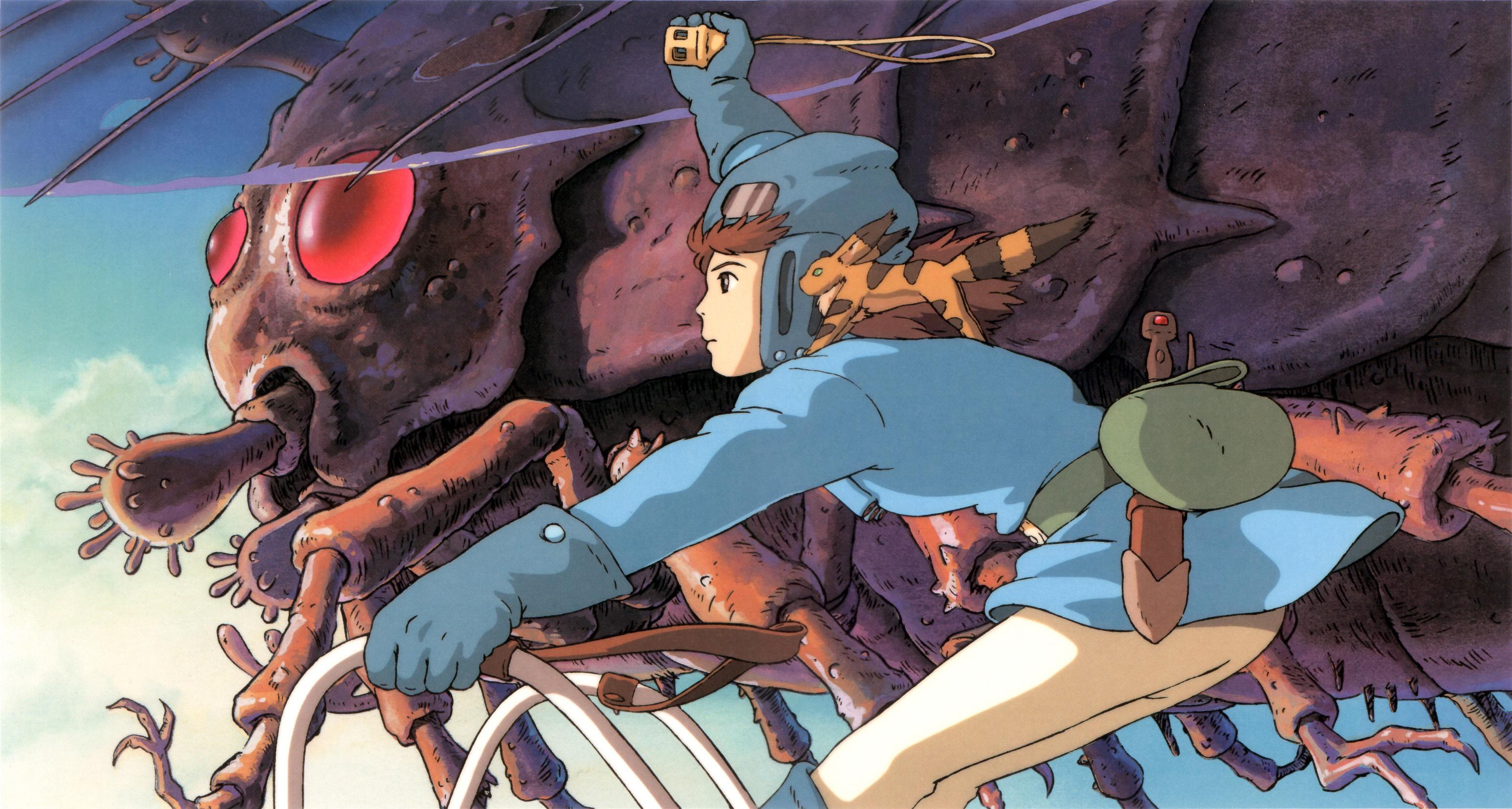 nausicaa del valle del viento Studio Ghibli