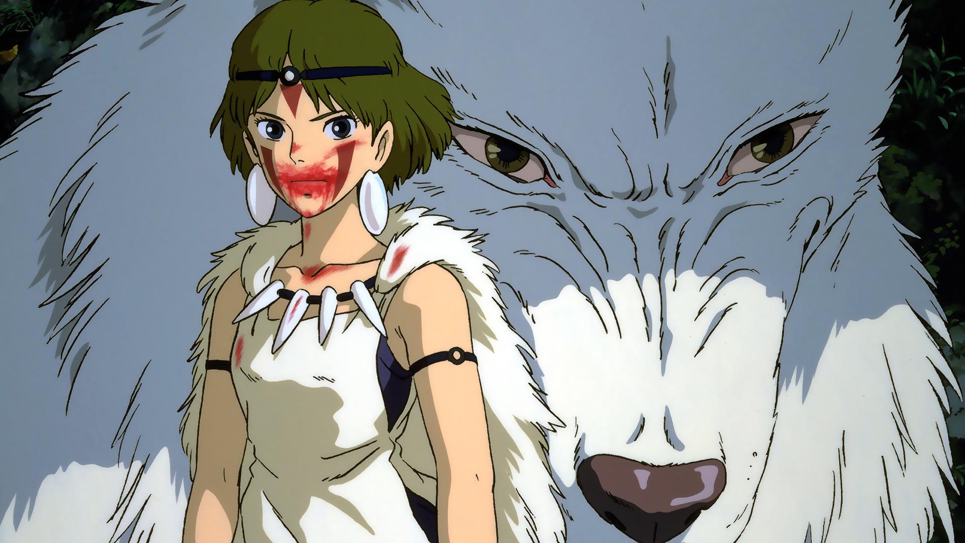 La Princesa Mononoke Studio Ghibli