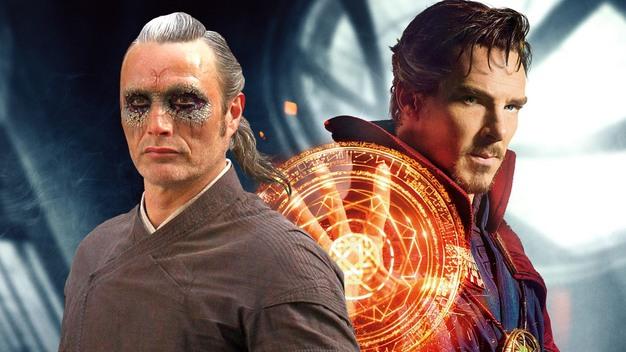 Dr. Stephen Strange y Kaecilius.