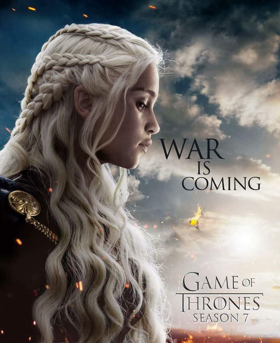 Dany-War-GoT-Season-7-Fan-Poster