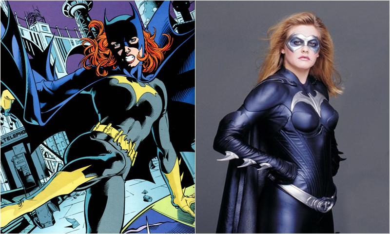 Alicia Silverstone como Batgirl en Batman & Robin.