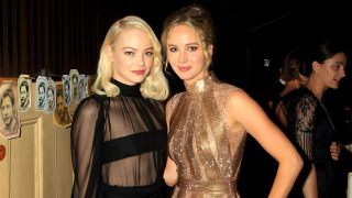 Emma Stone y Jennifer Lawrence