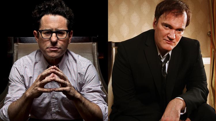J.J Abrams y Quentin Tarantino.