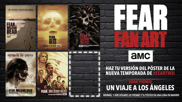 Fear the walking dead concurso amc 02